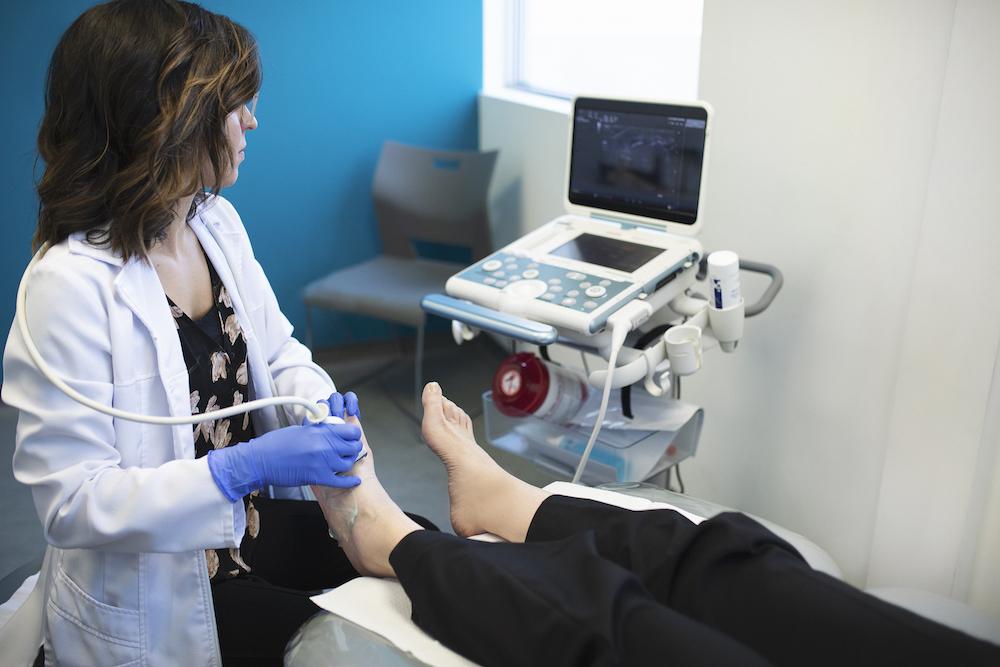 échographie du pied clinique beauport